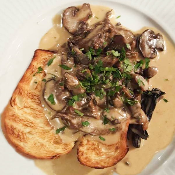 Cote Brasserie Mushroom Brioche