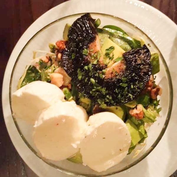 Mushroom and Mozzarella Salad – Rating:★★★★★