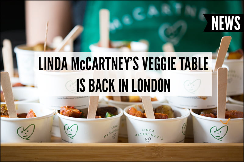 Linda McCartney's Veggie Table NVW18