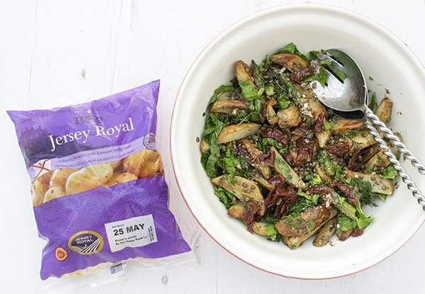 Roasted New Potatoes and Asparagus Salad Packaging LR