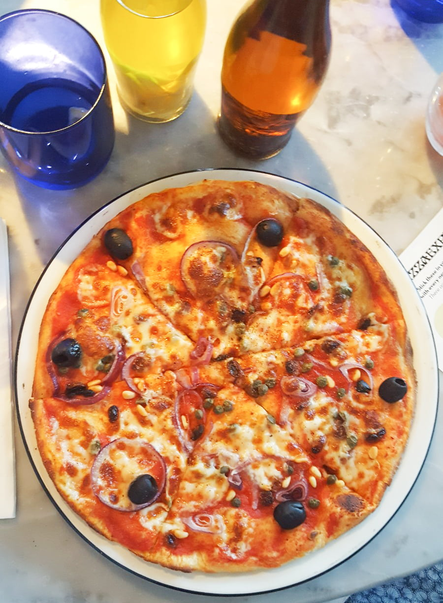 Pizza Express Vegetarian Veneziana