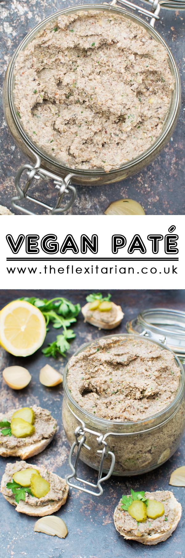 Vegan Pâté [vegan] by The Flexitarian