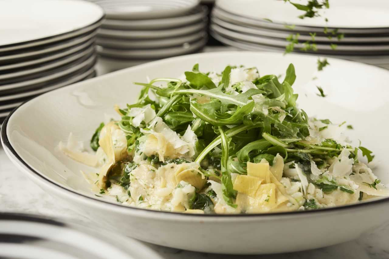 Pizza Express summer Menu Artichoke and Spinach Risotto