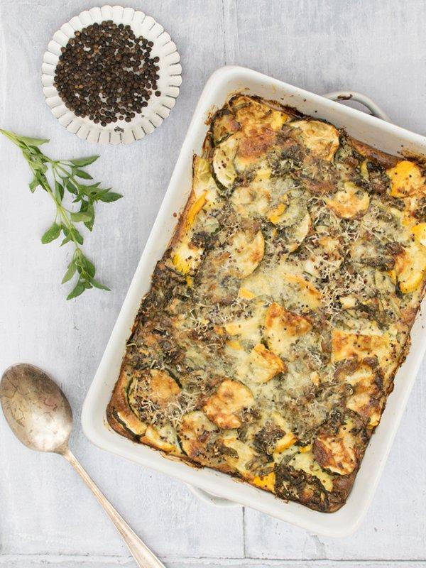 Quinoa & Courgette Gratin [vegetarian] © The Flexitarian - Annabelle Randles
