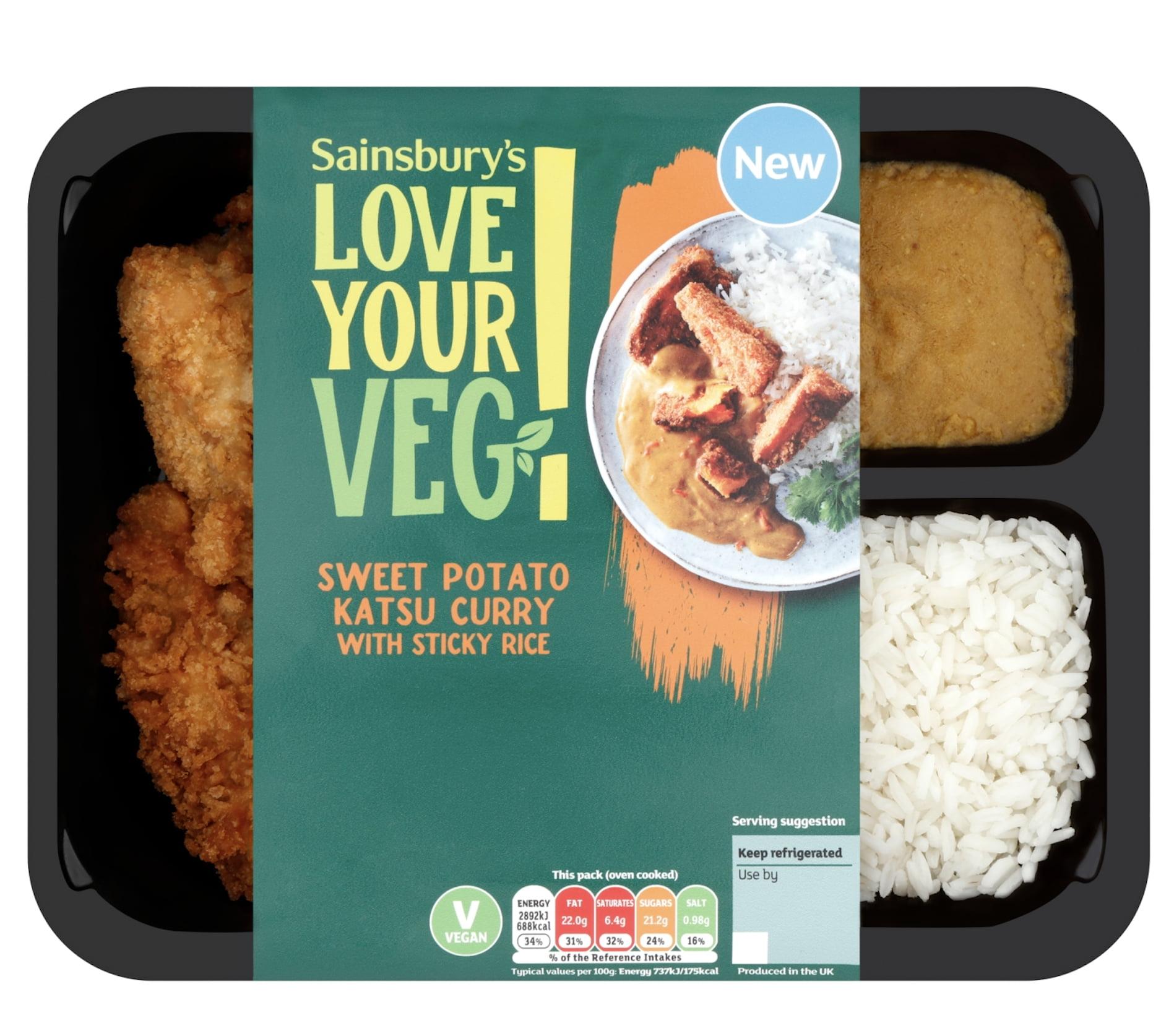 Sainsbury's Love Your Veg Katsu Cury