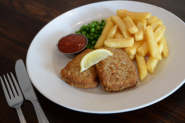 Hungry Horse Vegan Menu Vegan Fish and Chips