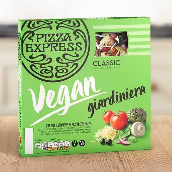 Pizza Express Vegan Giardiniera Now Available From Waitrose