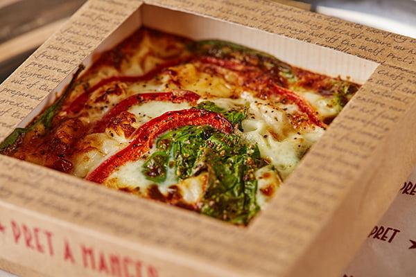 Veggie Pret Manchester Pret A Manger Power Omelette Veggie £3.50 v6
