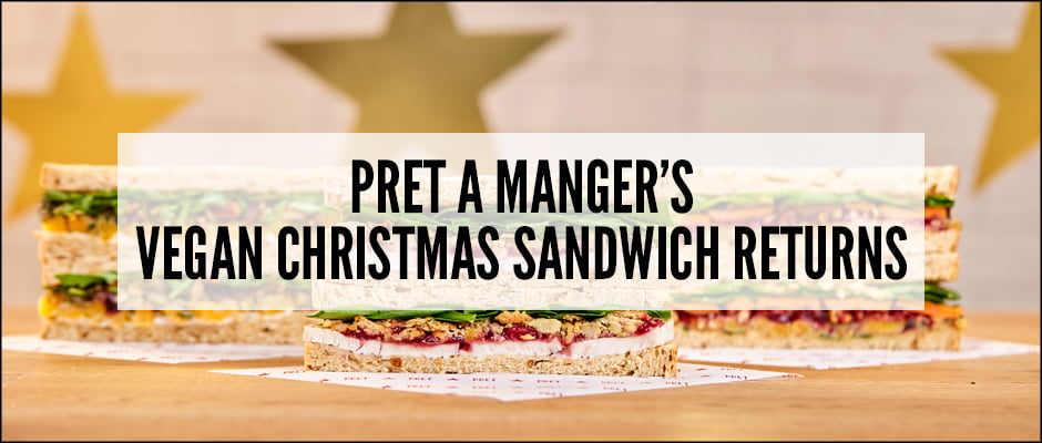 Pret A Manger's Vegan Christmas Sandwich Returns