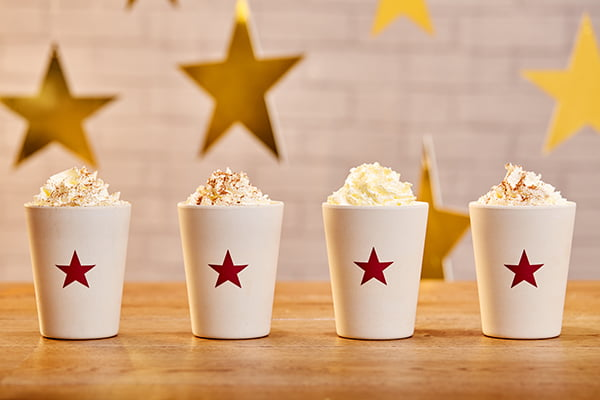 Pret's Christmas Hot Drinks