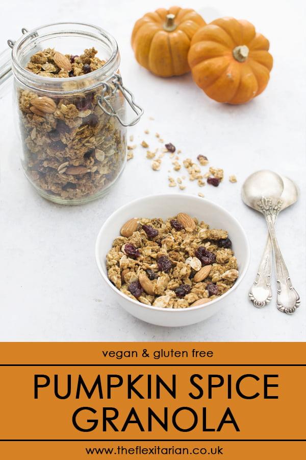 Pumpkin Spice Granola [vegan] © The Flexitarian - Annabelle Randles