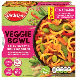 Birds Eye Veggie Bowls Asian Noodles