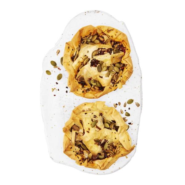 Brie Cranberry Filo Parcels - Waitrose Vegan & Vegetarian Festive Food