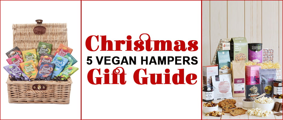Christmas Gift Guide - 5 Vegan Hampers