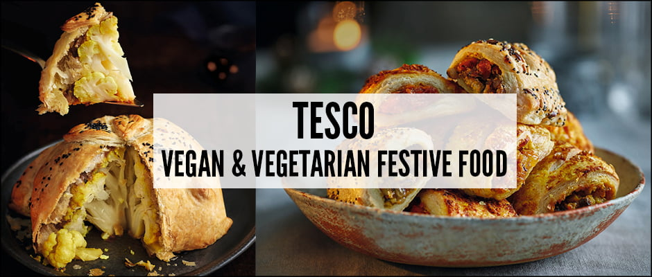 Tesco Vegan And Vegetarian Festive Food Https