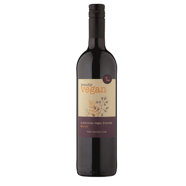 Vegan Wines - Proudly Vegan Merlot