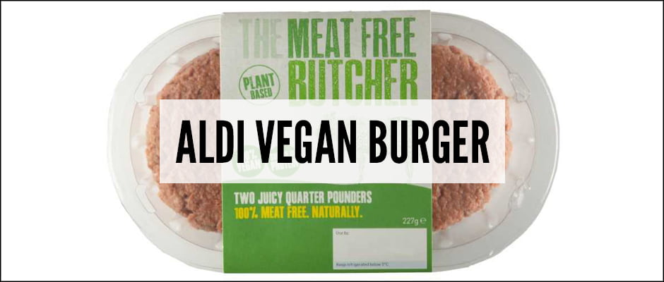 Aldi's Vegan Burger