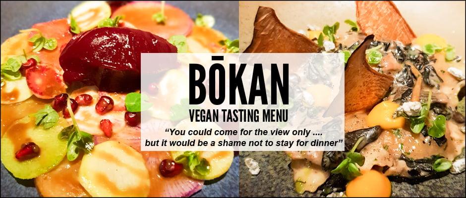 Bōkan's Vegan Tasting Menu