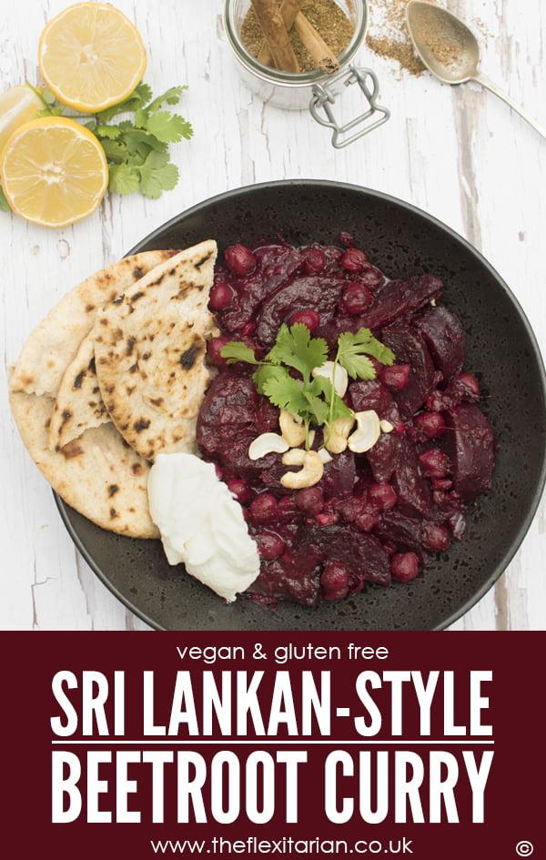 Sri Lankan-Style Beetroot Curry [vegan] [gluten free] © The Flexitarian - Annabelle Randles