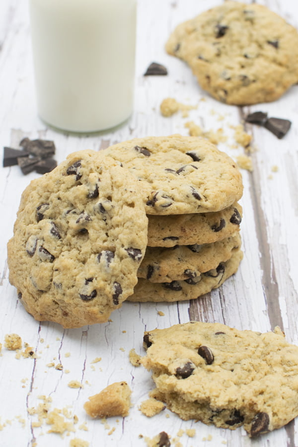 Vegan Chocolate Chip Cookies © 2019 Annabelle Randles The Flexitarian Le Flexitarien