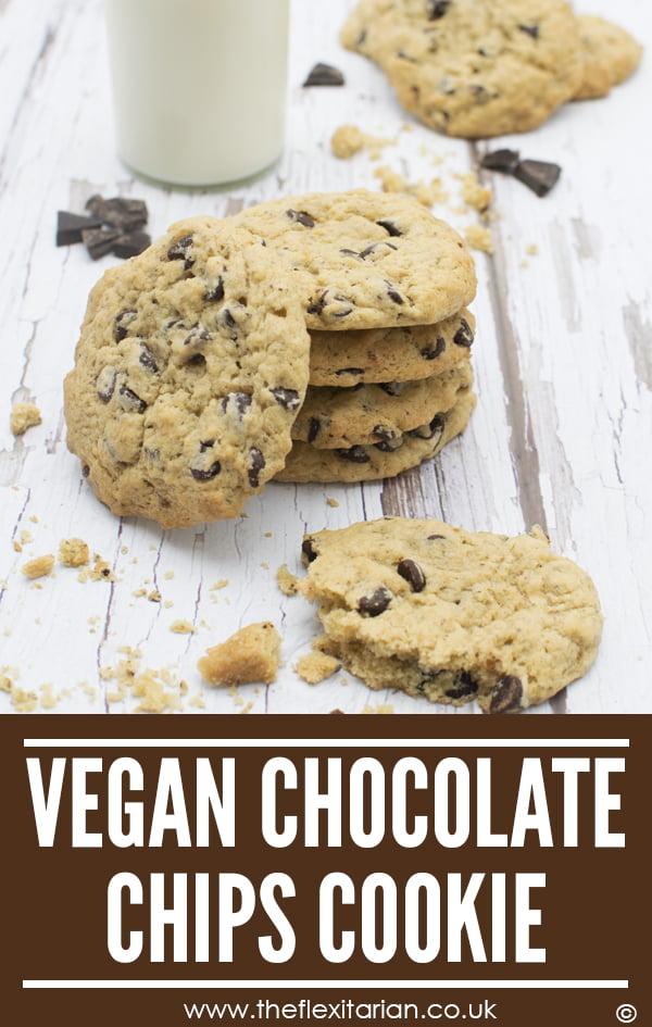 Vegan Chocolate Chip Cookies © 2019 Annabelle Randles The Flexitarian Le Flexitarien