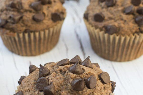 Vegan Chocolate Muffins by The Flexitarian - Annabelle Randles ©