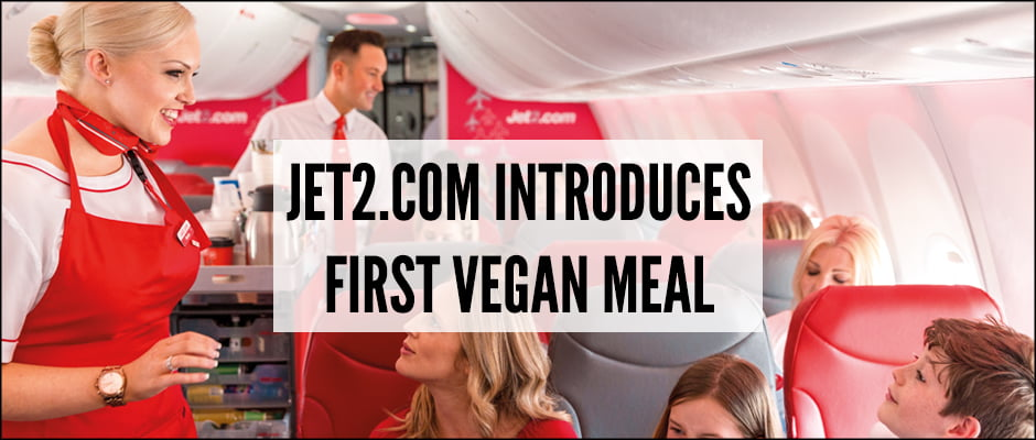 Jet2.com Introduces First Vegan Meal
