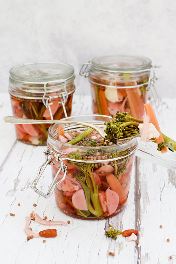 Easy Pickle Recipe © 2019 - Annabelle Randles : The Flexitarian : www.theflexitarian.co.uk
