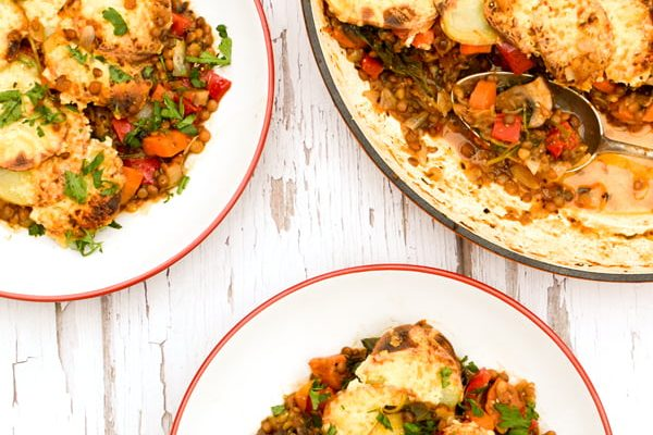 Lentil Vegetable Hotpot [vegetarian] by The Flexitarian Annabelle Randles ©