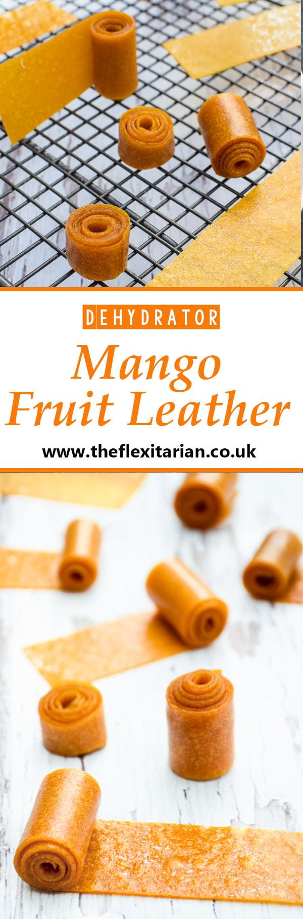 Mango Fruit Leather BioChef Arizona Sol Food Dehydrator © 2019 - Annabelle Randles : The Flexitarian : www.theflexitarian.co.uk