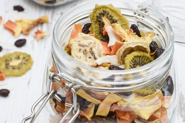 Tropical Fruit Mix BioChef Arizona Sol Food Dehydrator © 2019 - Annabelle Randles : The Flexitarian : www.theflexitarian.co.uk