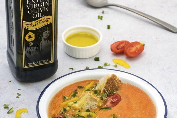 Easy Gazpacho by La Espanola Picture © Annabelle Randles   The Flexi