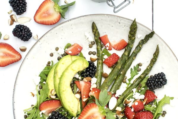 Summer Berry Salad 2019 © Annabelle Randles The Flexitarian