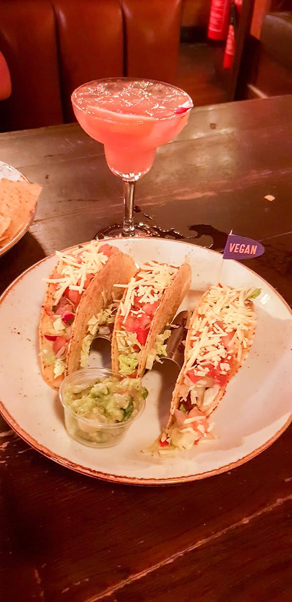 New Chiquito Vegan Menu Tacos