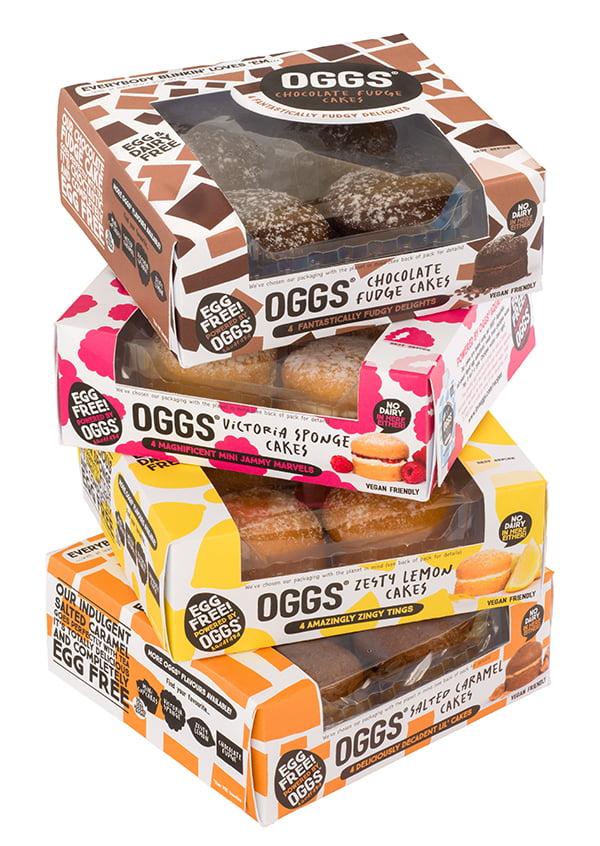 Oggs Vegan Cakes Stack