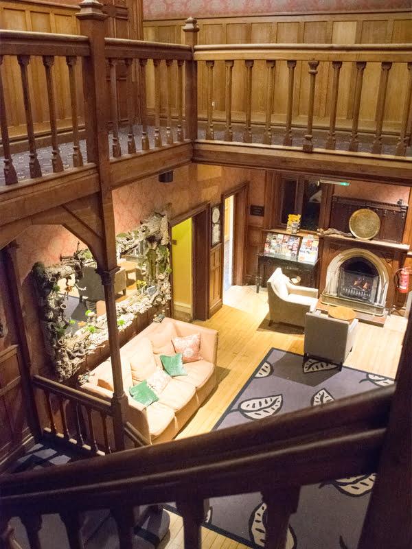 Careys Manor Hotel Reception 2019 © Annabelle Randles The Flexitarian