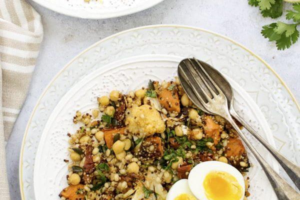 Smoky Grain Salad [vegetarian] 2020 © Annabelle Randles | The Flexitarian