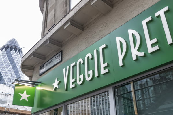 VEGGIE PRET RE-OPENS AND LAUNCHES DELIVERY IN PARTNERSHIP WITH DELIVEROO