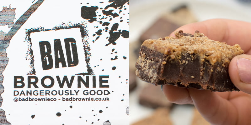 Win A Box Of Gourmet Vegan Brownies From Bad Brownie Https Theflexitarian Co Uk